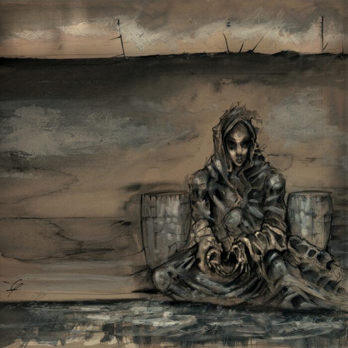The Plague Mass / Worlds Between Us - Split